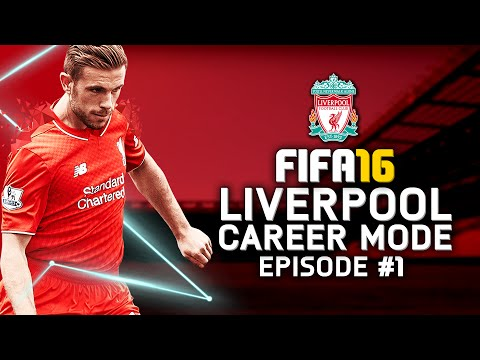 FIFA 16 | Liverpool Career Mode #1 - IT IS FINALLY HERE!!!