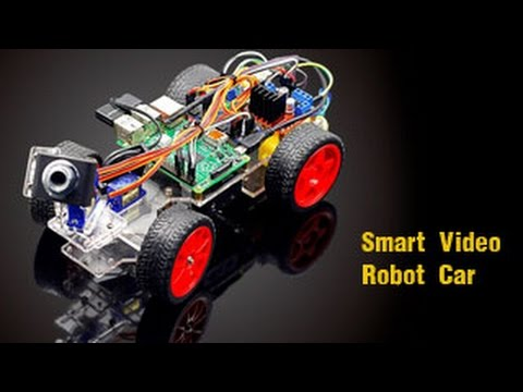 Video Robot Smart Car Kit for Raspberry Pi 3 Project with Remote Control by PC/Python Code