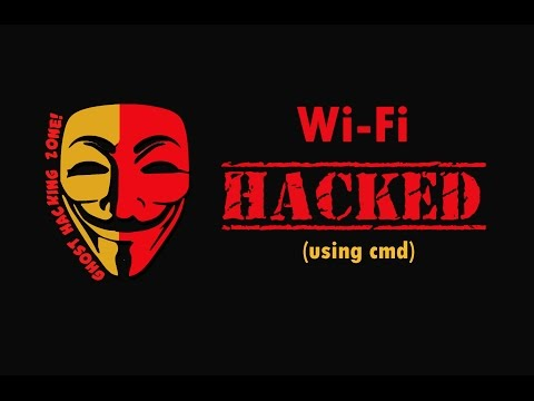 Get any WIFI password Using Cmd, Updated 2016