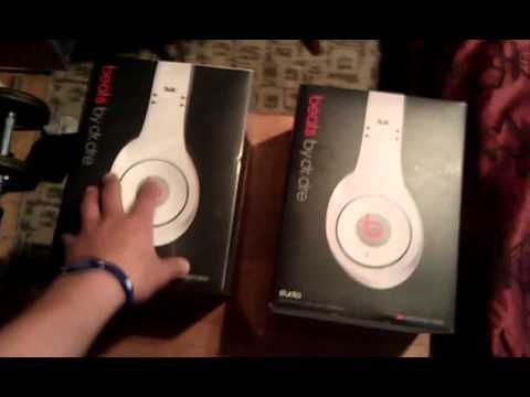 Fake vs Real Beats by Dre (White) Studio part 1 of 3