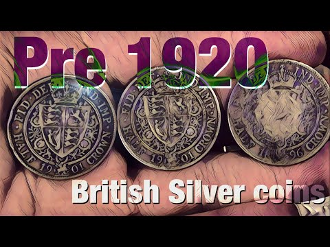 Stacking British Pre 1920 .925 fine Silver Coins!