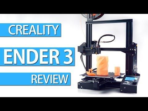 ENDER 3 - REVIEW, SETUP & FIRST 3D PRINTS