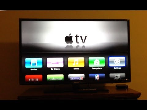 How to connect Apple TV Third Generation