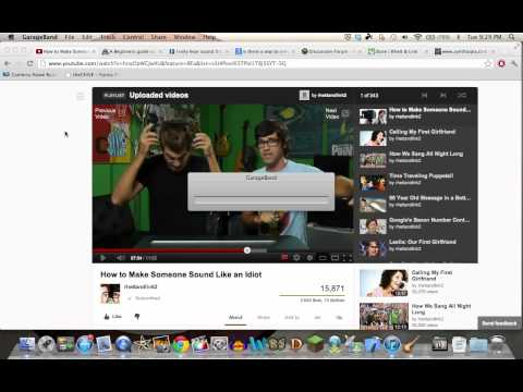Rhett and Link speech jammer (Garageband)