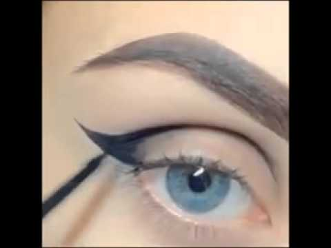Devilish eyes makeup   Video Dailymotion