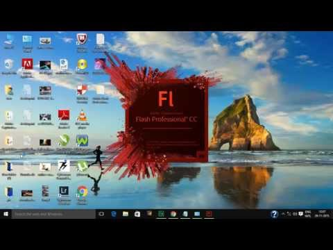 How to install Adobe Flash Professional CC without adobe id