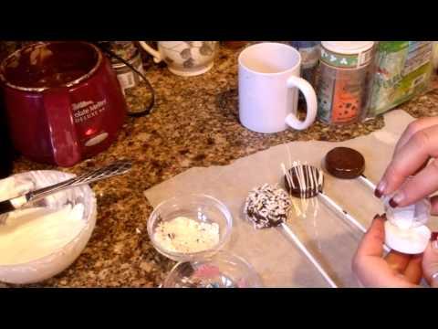 Jus4SweetZ Chocolate Dipped Oreo Pops