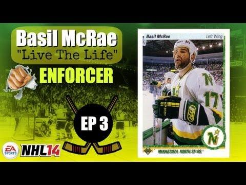NHL 14: Basil McRae - Live The Life (Enforcer) EP3 - NHL Draft