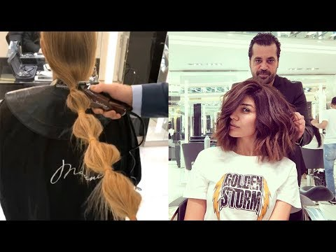 Professional Hairstyles Compilation | Amazing Hair Transformation by mounir salon