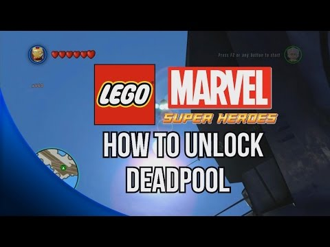 How to Unlock Deadpool - LEGO Marvel Super Heroes