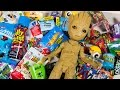 Download HUGE Baby Groot Surprise Toy Opening Guardians of the Galaxy Toys for Boys Superhero Kinder Playtime MP3,3GP,MP4