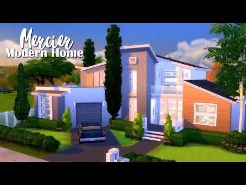 The Sims 4 | Builds For You: Mercier Modern Home