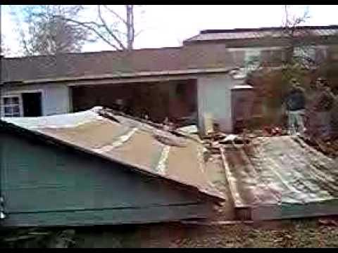 Garage Falling down