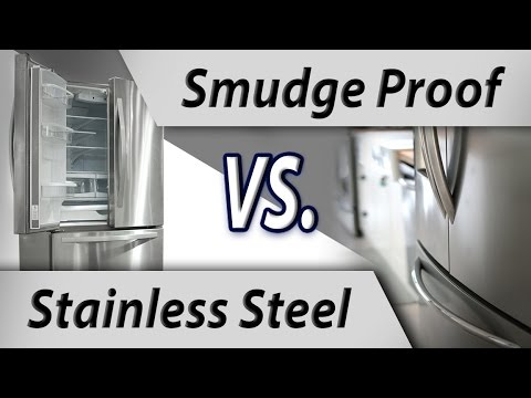 The difference between normal stainless appliances and Smudge Proof stainless