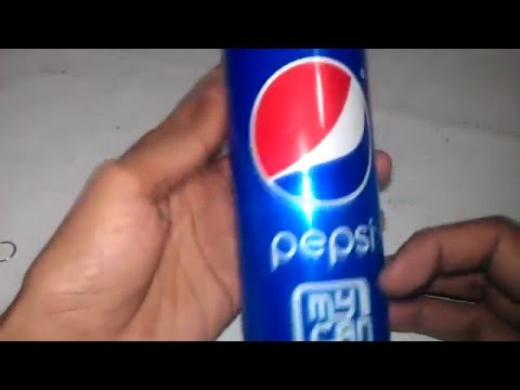 How to make a cool keychain using soda can
