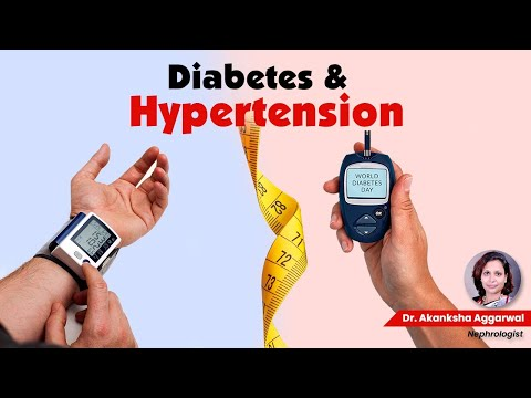 Diabetes & hypertension, Dr. Akanksha Aggarwal (MBBS, MD - General Medicine)