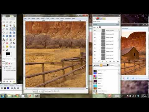 GIMP Tutorial - Removing an Object from an Image