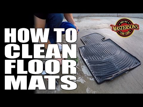 How To Clean Dirty Floor Mats - Masterson's Car Care - Detailing Tips & Tricks