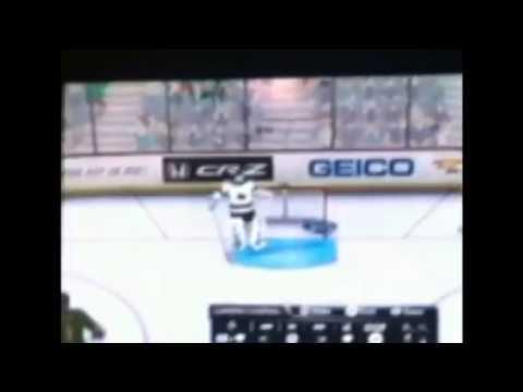 Nicklas Grossman game winning shootout goal in NHL 2K11