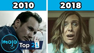 Top 21 Best Horror Movies of Each Year (2000 - 2020)