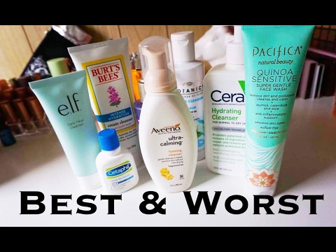 Drugstore Face Cleansers | Normal to Dry, Sensitive Skin