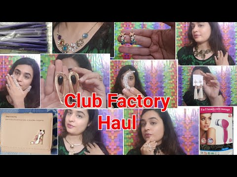✔ CLUB FACTORY HAUL PART 2 / CHEAPEST PRICES EVER / CLUB FACTORY JEWELLERY HAUL / ACCESORIES