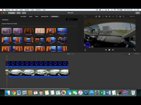 How to add a transition in iMovie in 15 seconds