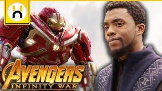 Avengers Arrive in Wakanda Scene Revealed   Avengers Infinity War