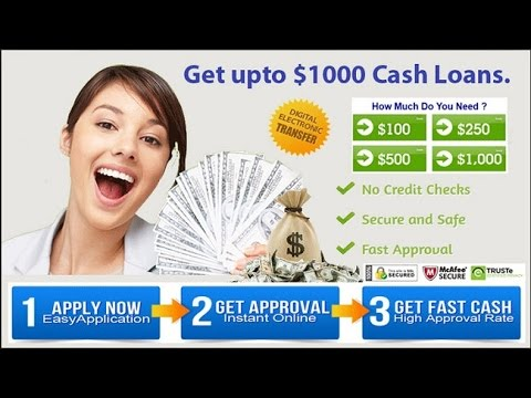 Online Payday Loans Up To $1,000