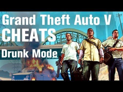 GTA 5 Cheats - Drunk Mode