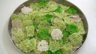 भाप से बनाये बहुत सारे साबूदाना पापड़ - steamed sabudana papad - sabudana papad by shalini
