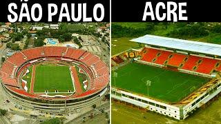 O MAIOR Estádio De CADA ESTADO Do Brasil!!