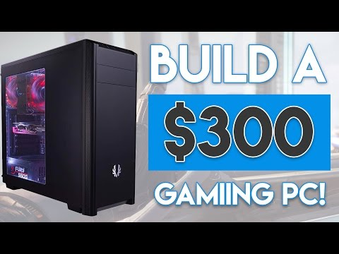 INSANE $300 BUDGET GAMING PC BUILD 2016! [1080P -  60FPS!]