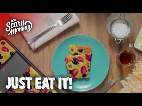 Baked Pancakes Just Saved Your Morning | Just Eat It | Scary Mommy