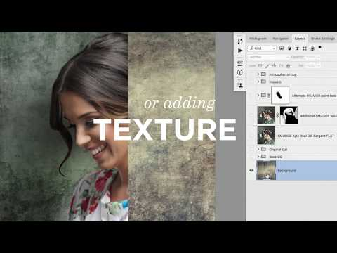Working With Brushes In Photoshop CC (Official Trailer) with Lisa Carney