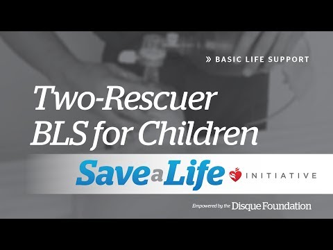 4b. Two-Rescuer BLS for Children, Basic Life Support (BLS)