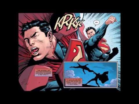Superman vs The Injustice League