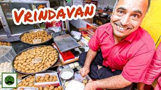 Breakfast at Banke Bihari Temple Market | Mathura Vrindavan Food