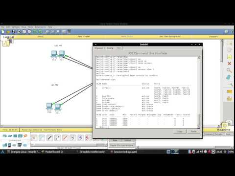 How To Setting Vlan In Cisco Packet Tracer