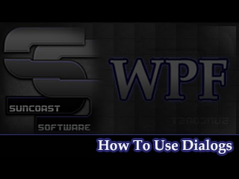 WPF - How to use open file dialog