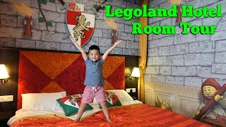 Legoland Hotel Kingdom Suite Room Tour And Unlocking Secret Treasure Chest With Ckn Toys