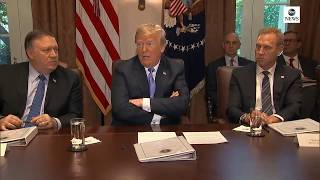 President Trump holds cabinet meeting | ABC News