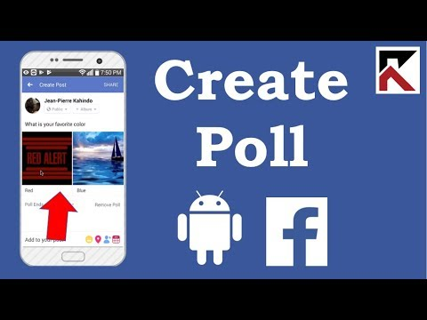 How To Create A Poll On Facebook App Android 2018