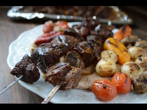 Beef shish kabob / شيش كباب