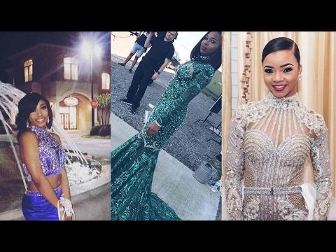 Dancing Dolls: Makalah, Camryn, & Faith 2017 Prom Looks