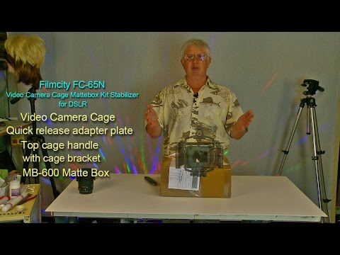 DSLR Video Cage - Unboxing and First lOOk at New Filmcity FC 65N MB600 Kit