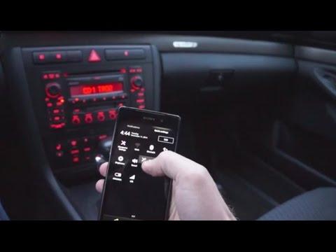 2001 Audi A4 Bluetooth adapter installation