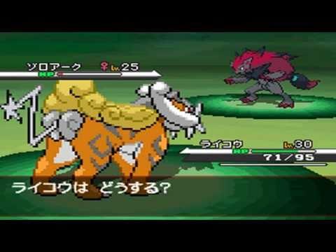 Pokémon White - Zoroark Event