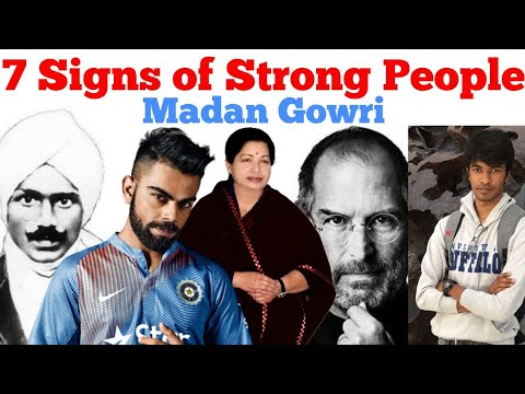 7 Signs of Strong People | Tamil | Madan Gowri | MG
