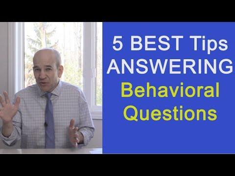 5 Smoking Hot Tips to Passing Behavioral Interviews